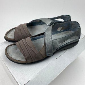 Naot Nubuck Leather Closed Back Sandals